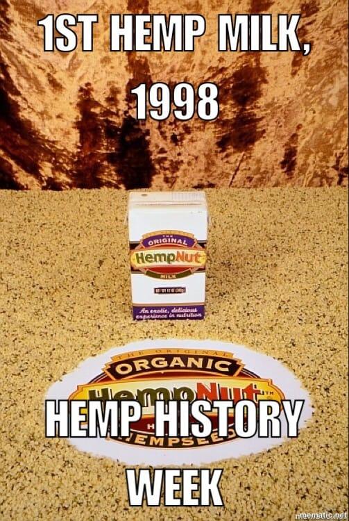 First hemp milk
