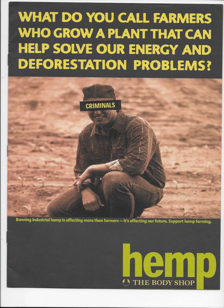 Anita Roddick: Hempseed Oil Pioneer