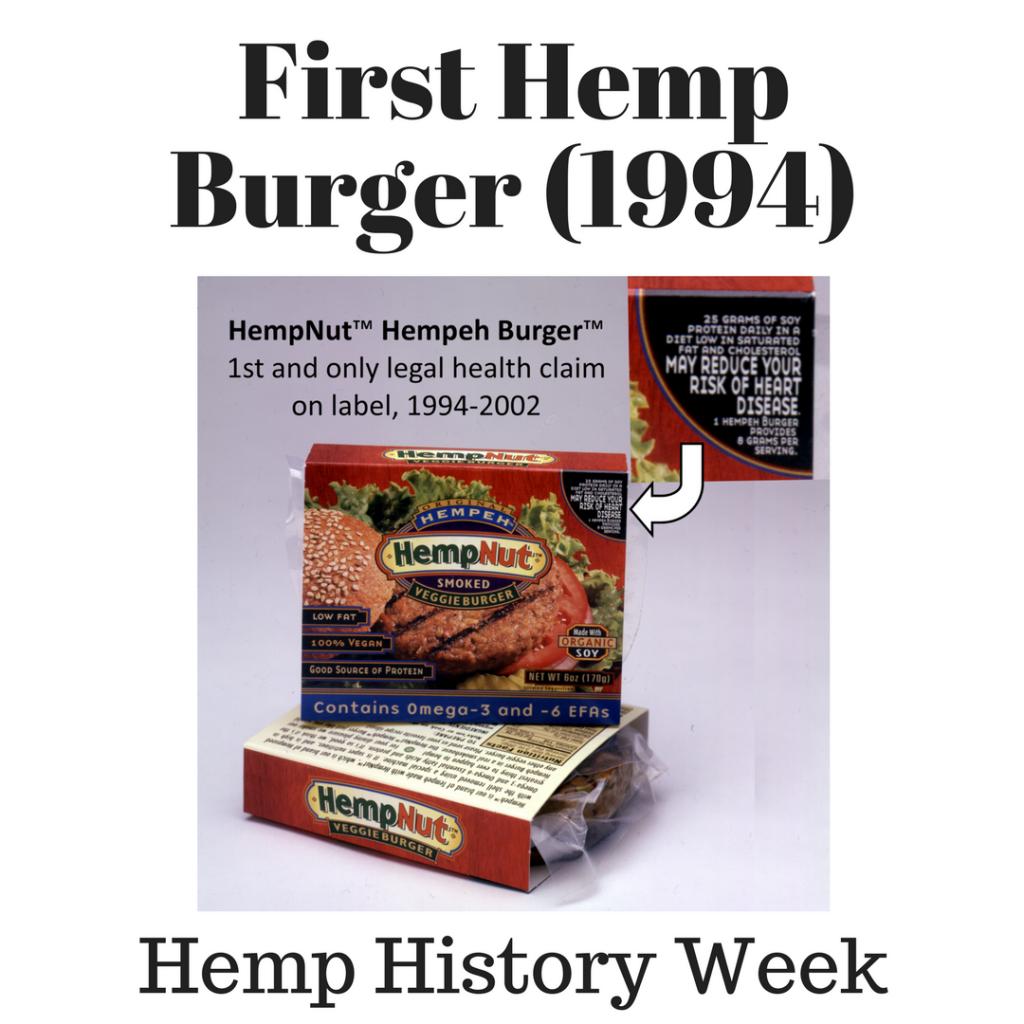 1994: Hempeh Burger