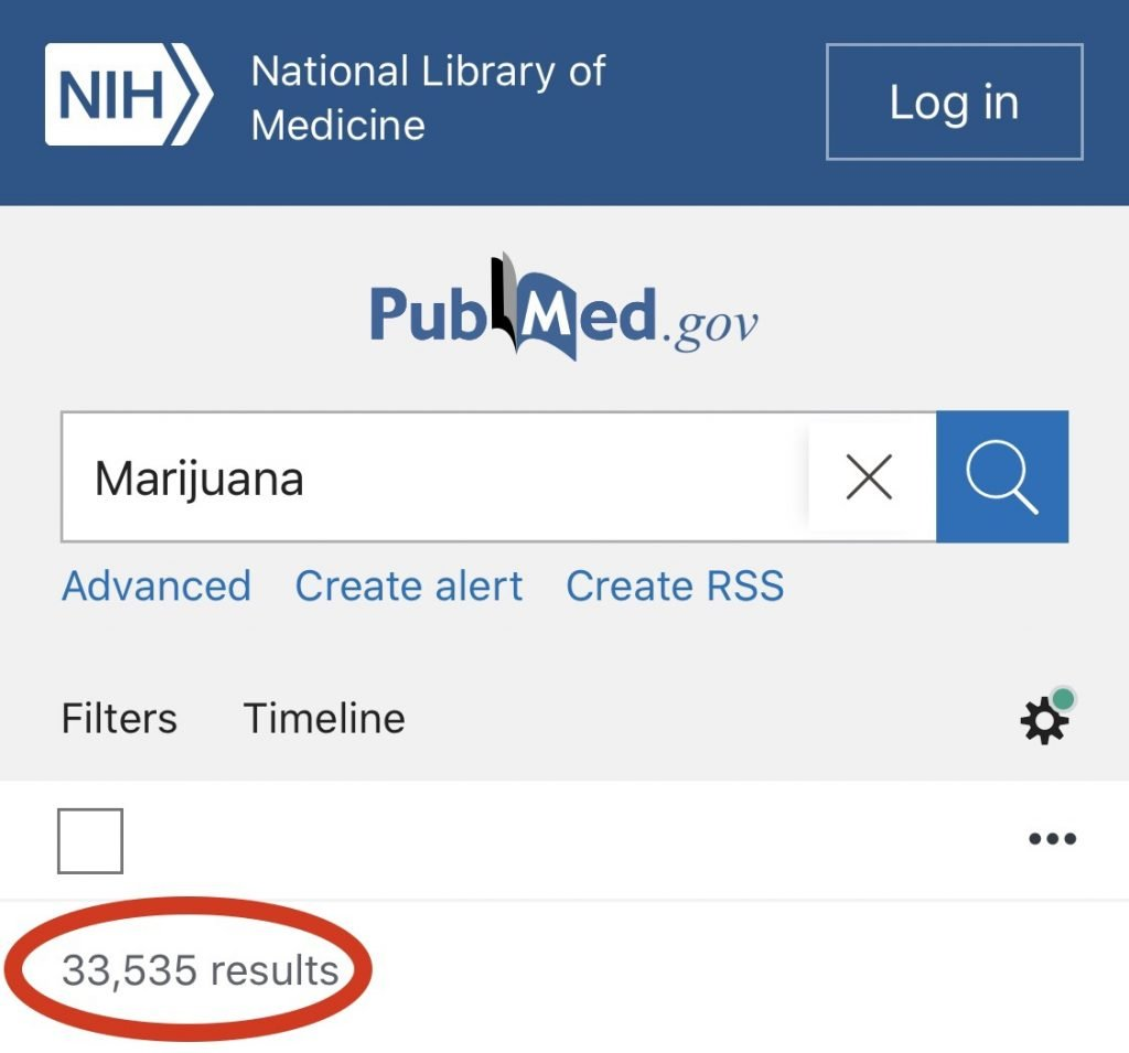 U.S. Gov't Has 33,535 Studies on Marijuana Going Back 180 Years