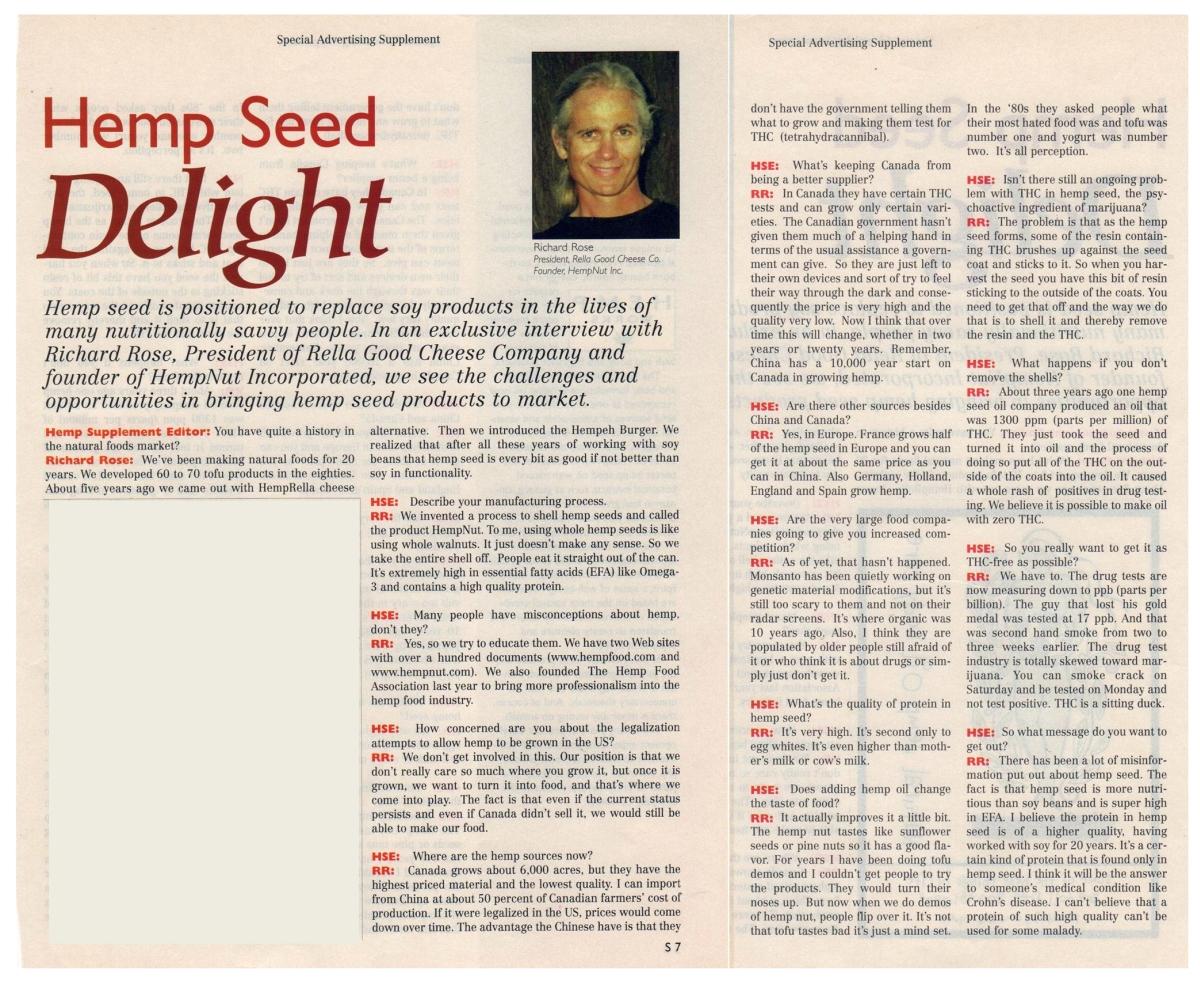 2000: Hemp Seed Delight