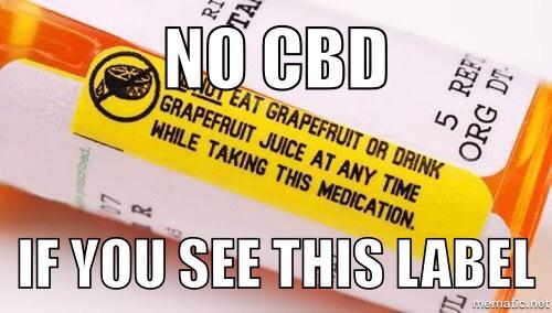 Cannabinoid/Drug Interactions
